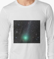 Comet Lovejoy cosmic space Long Sleeve T-Shirt