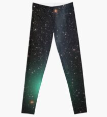 Comet Lovejoy cosmic space Leggings
