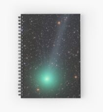 Comet Lovejoy cosmic space Spiral Notebook