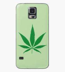 cannabis weed leaf Case/Skin for Samsung Galaxy
