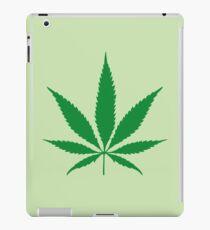 cannabis weed leaf iPad Case/Skin