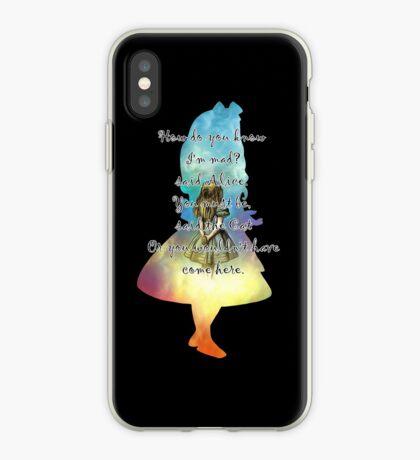 Wonderland - Alice In Wonderland Quote Vinilo o funda para iPhone