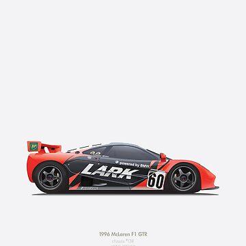 McLaren F1 GTR  by peterdials