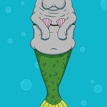 Mermanatee by zigmenthotep