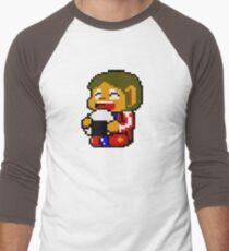 Alex with rice. Men's Baseball ¾ T-Shirt