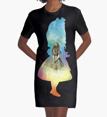 Alicia en el país de las Maravillas Vestido camiseta