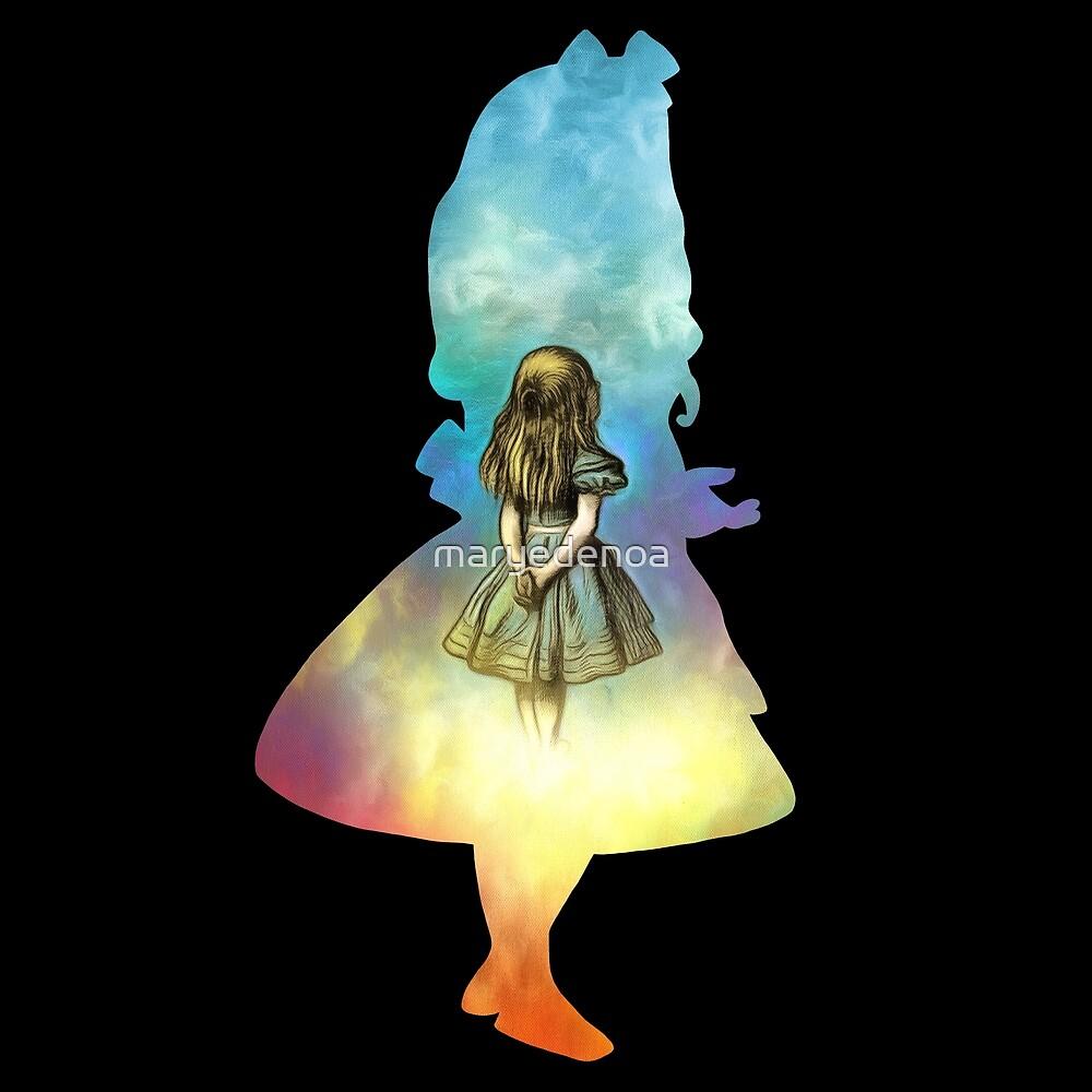 «Alicia en el país de las Maravillas» de maryedenoa