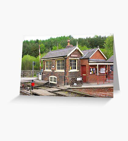 The Signal Box - Levisham Station Greeting Card