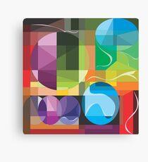 Color Lenses by FreddiJr Canvas Print