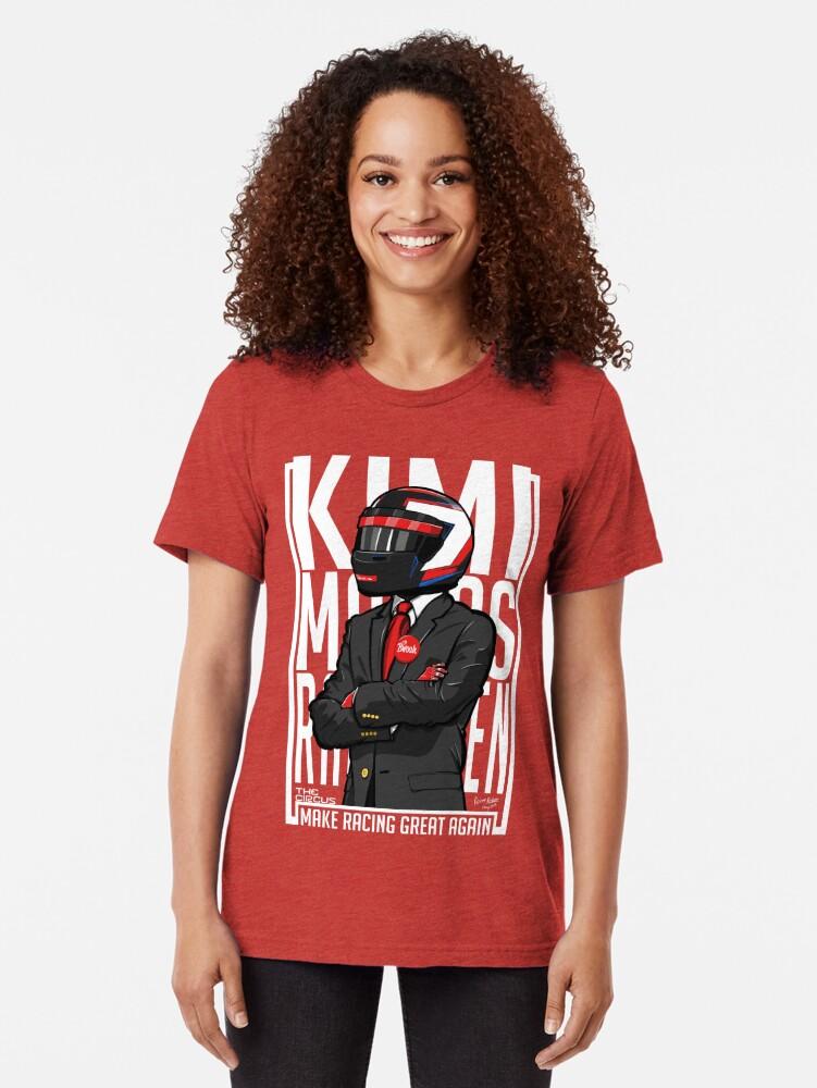Alternative Ansicht von Rot, Weiß & Bwoah: Kimi Räikkönen für den Präsidenten Vintage T-Shirt