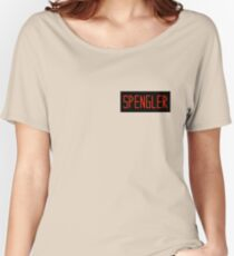 Egon Spengler Name Tag Women's Relaxed Fit T-Shirt