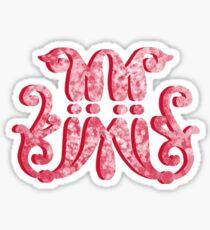 Marist fancy M Sticker