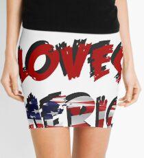 THE 908 LOVES AMERICA Mini Skirt
