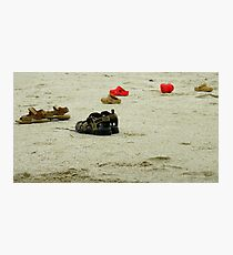 No Shoes Required Photographic Print