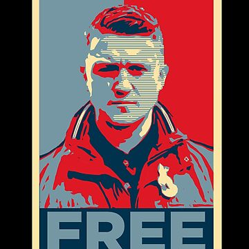 Free Tommy Robinson | Free Speech Protest Design by james006