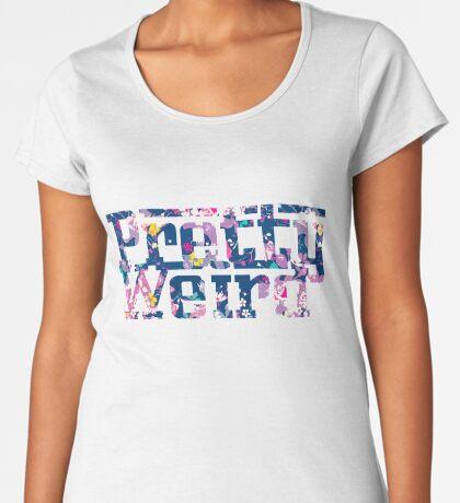 Pretty Weird Logo  Women's Premium T-Shirt