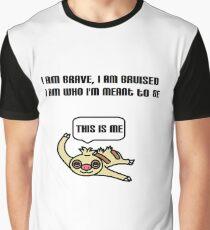 Greatest Showman Slakoth Graphic T-Shirt