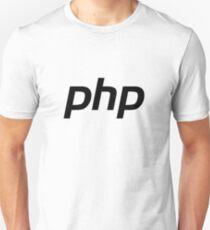 PHP: Hypertext Preprocessor Logo (Original) Unisex T-Shirt