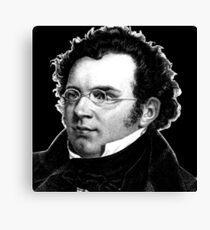 Franz Schubert - Great Composer Canvas Print