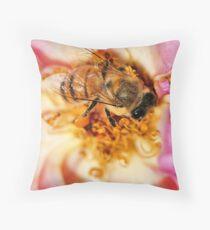 Pink Nectar Throw Pillow