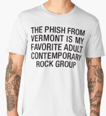 The Phish Contemporary Adult Rock Group Men's Premium T-Shirt