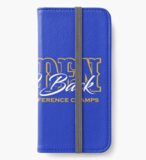 Golden Back 2 Back iPhone Wallet/Case/Skin