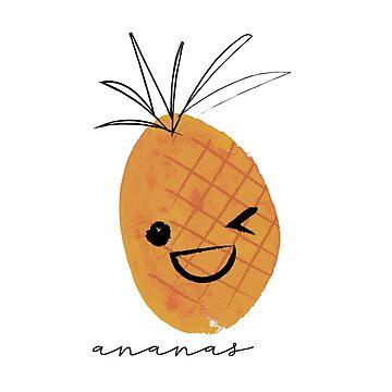 Ananas by HoopandHoller