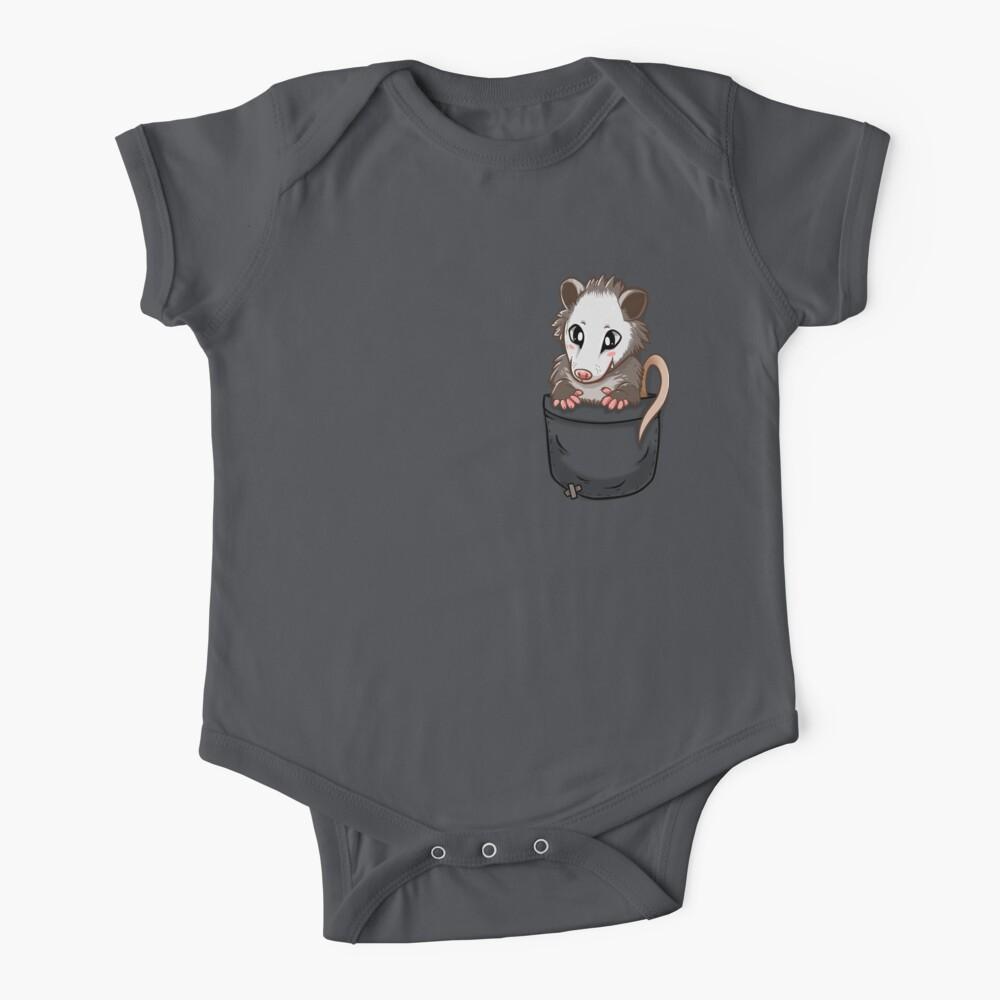 Pocket Cute Opossum Baby One-Piece