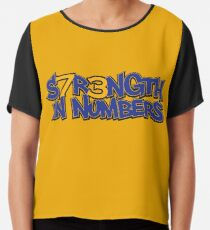 S7R3NGTH IN NUMBERS Chiffon Top