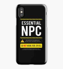Geek Larp RPG iPhone Case