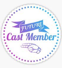 Future Cast Member Sticker