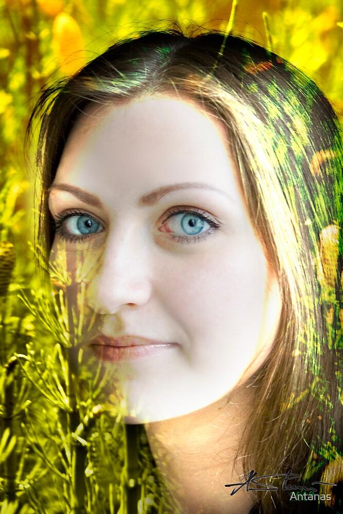 Stunning Eyes by Antanas