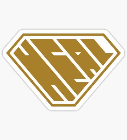 Heal SuperEmpowered (Gold) Sticker