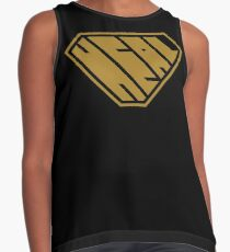 Heal SuperEmpowered (Gold) Sleeveless Top