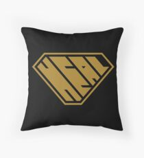 Heal SuperEmpowered (Gold) Throw Pillow