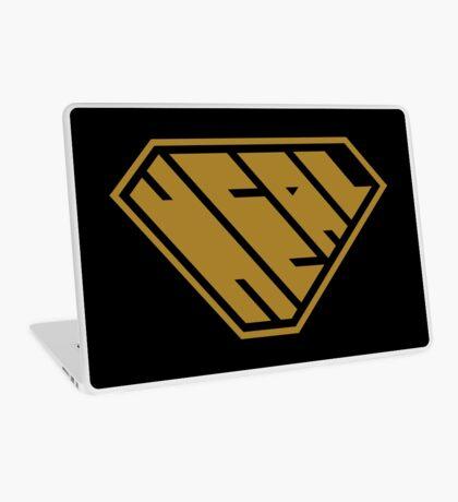Heal SuperEmpowered (Gold) Laptop Skin