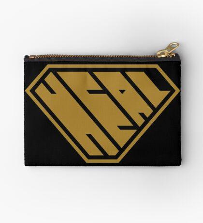 Heal SuperEmpowered (Gold) Zipper Pouch