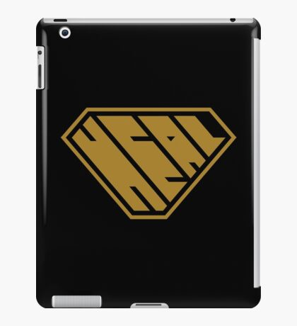 Heal SuperEmpowered (Gold) iPad Case/Skin