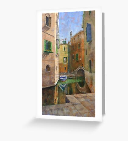 Summer Shade, Venice Greeting Card