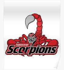Hannover Scorpions Poster