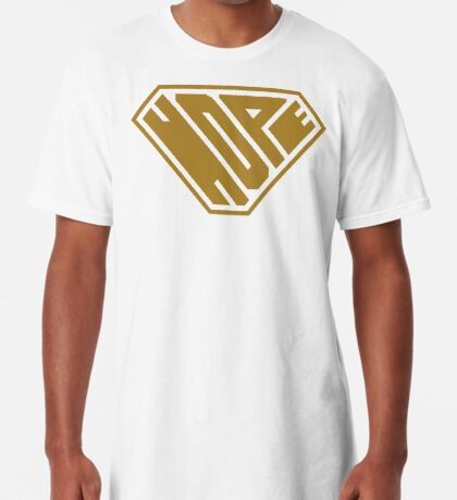 Hope SuperEmpowered (Gold) Long T-Shirt