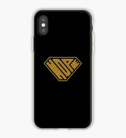 Hope SuperEmpowered (Gold) iPhone Case
