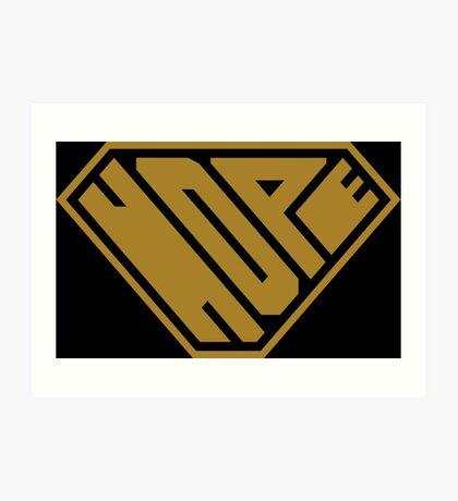 Hope SuperEmpowered (Gold) Art Print