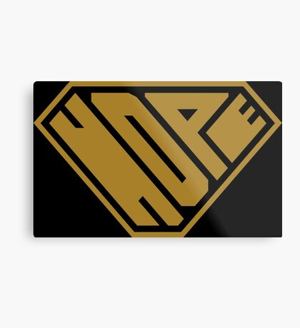 Hope SuperEmpowered (Gold) Metal Print