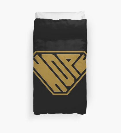 Hope SuperEmpowered (Gold) Duvet Cover