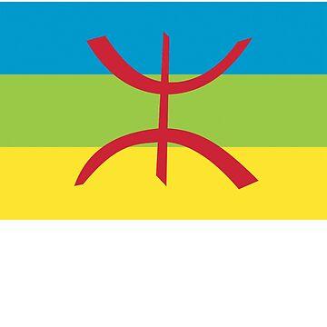 amazigh shirt by yellowpinko