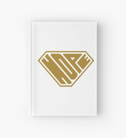 Hope SuperEmpowered (Gold) Hardcover Journal
