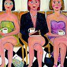 She Always Eats The Cake by Linda  Sharpe