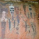Courthouse Wash Pictographs by David Lee Thompson