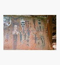 Courthouse Wash Pictographs Photographic Print